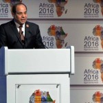 Egypt's president Abdel Fattah El Sisi inaugurates Africa 2016 business, investment forum