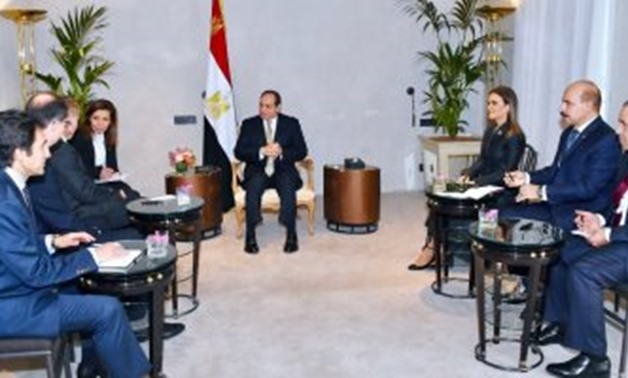 Sisi, ThyssenKrupp CEO review ongoing projects